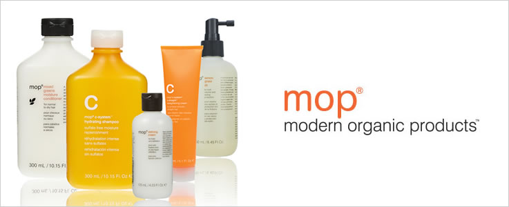 MOP Modern Organic Products Hair Care and Hair Styling