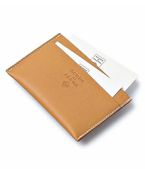 Acqua Di Parma Weekend Travel Collection Business Card Holder