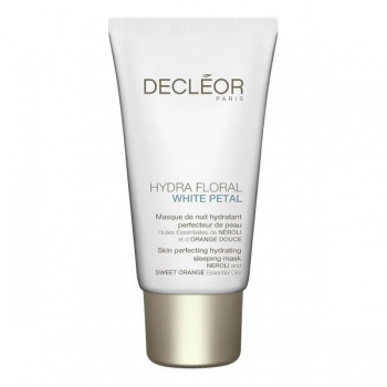 Decleor Hydra Floral White Petal Skin Perfecting Hydrating Mask 50ml