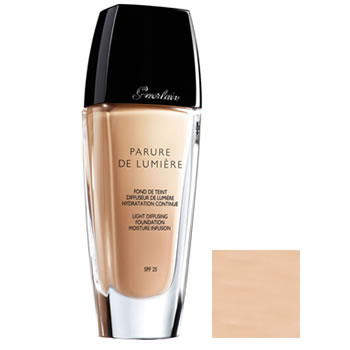 Guerlain Parure De Lumiere Foundation Fluid Beige Natural 03 30ml