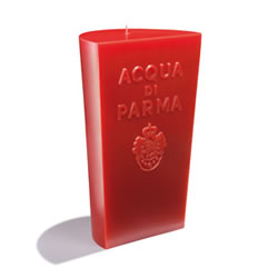 Image of Acqua di Parma Red Cone Candle Spicy Woods Fragrance 1400g
