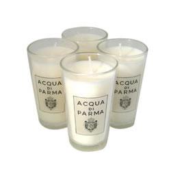 Image of Acqua di Parma Colonia Box of 4 Small Glass Candles 260g