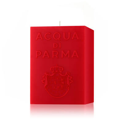 Image of Acqua di Parma Red Cube Candle Spicy Woods Fragrance 1000g