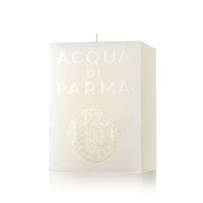 Image of Acqua di Parma White Cube Candle Cloves Fragrance 1000g