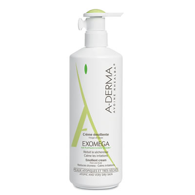 Compare retail prices of A-DERMA Exomega Emollient Cream 400ml to get the best deal online