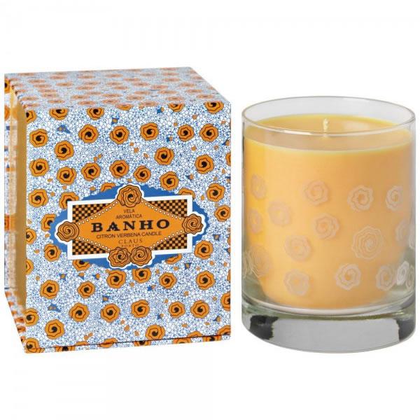 Image of Claus Porto Banho Citron Verbena Candle