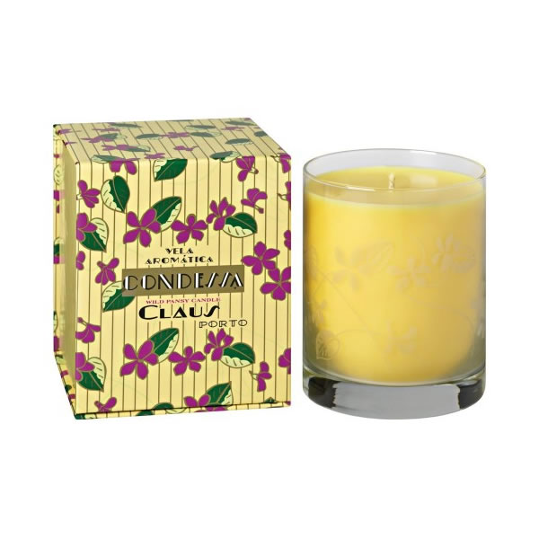 Image of Claus Porto Condessa Wild Pansy Candle