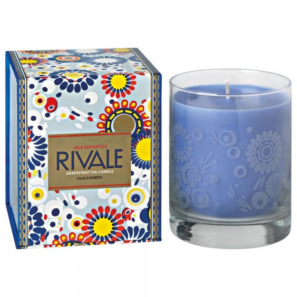 Image of Claus Porto Rivale Grapefruit Fig Candle