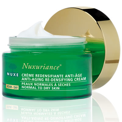 nuxe nuxuriance creme jour anti aging re densifying day cream 50ml. Black Bedroom Furniture Sets. Home Design Ideas