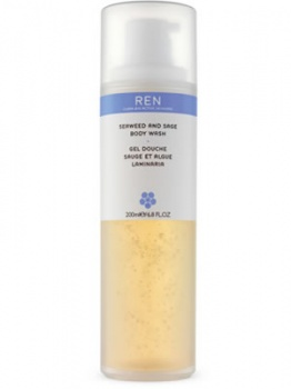 REN Seaweed and Sage Shower Wash 200ml