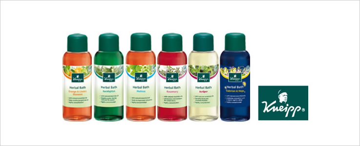 Kneipp Holistic Bath and Body Collection, Bath Oils, Bath Salts and Body Washes.