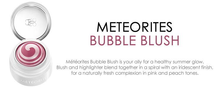 Guerlain Meteorites Bubble Blush Collection
