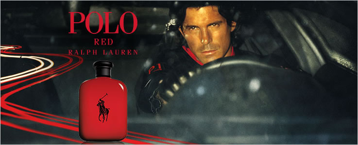 Ralph Lauren Womens Perfume and Mens Fragrance, Polo Red.