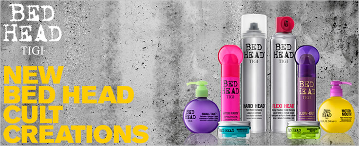 Tigi Bed Head and Professional Hair Care.