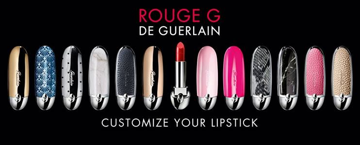 Rouge G Customize Your Lipstick
