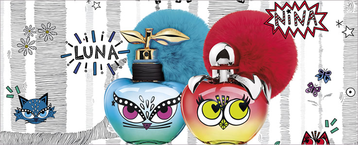 Nina Ricci Monsters Luna and Nina Perfumes