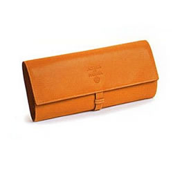 Acqua Di Parma Weekend Travel Collection Leather Jewellery Roll
