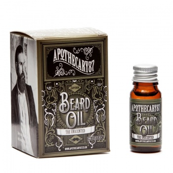 Apothecary 87 Unscented Beard Oil 10ml