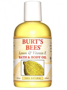 Burt's Bees Lemon and Vitamin E Bath & Body  Oil 115ml