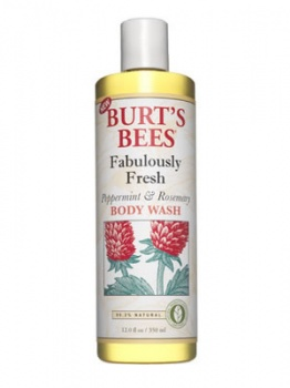 Burt's Bees Peppermint and Rosemary Body Wash 350ml
