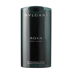 Bvlgari Aqua Pour Homme Shampoo and Shower Gel 200ml