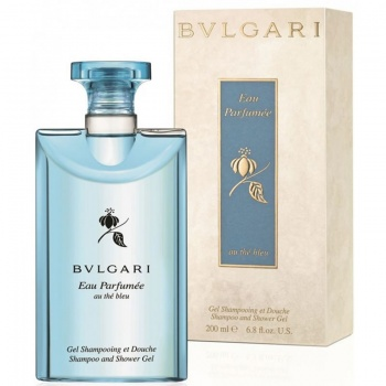 Bvlgari Eau Parfumee Au The Bleu Shower Gel 200ml