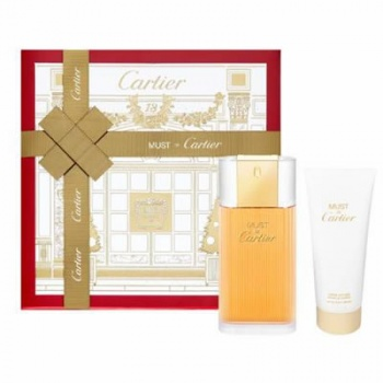 Cartier Must For Women EDT 100ml Gift Set