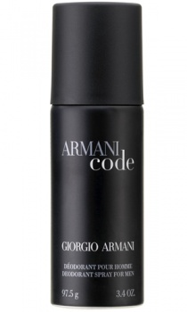 Giorgio Armani Code For Men Deodorant Spray 150ml