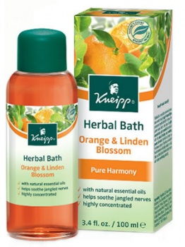 Kneipp Herbal Bath Orange and Linden Blossom 100ml (Harmony)