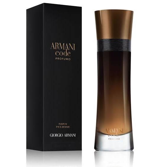 giorgio armani code for men profumo edp 110ml