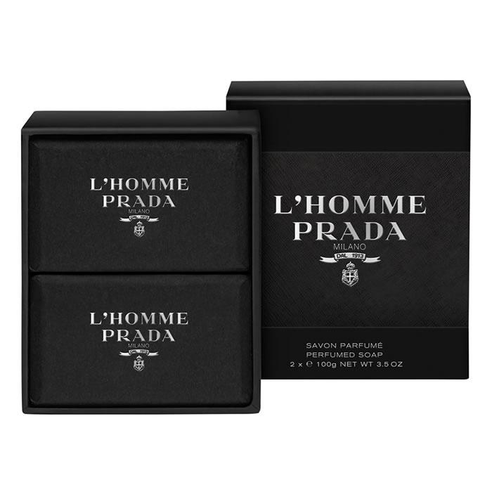 Prada L Homme Prada Soap 2 x 100g d6d1960f6df1
