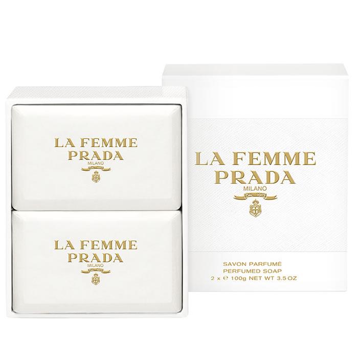 Prada La Femme Soap 2 x 100g 29c584020bd0