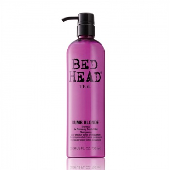 TIGI Bed Head Dumb Blonde Shampoo for Chemically Treated Hair 750ml